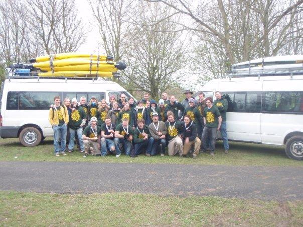 Sam and polo team 2008